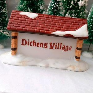 "Dept. 56 "" Dickens Village Sign"""
